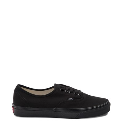 Main view of All Black Vans Authentic Skate Shoe