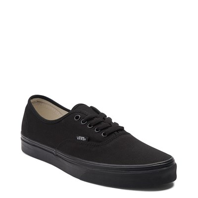 Alternate view of All Black Vans Authentic Skate Shoe