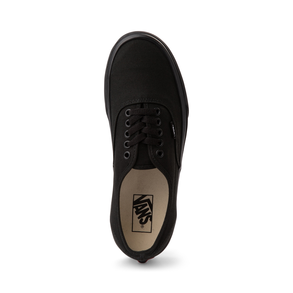 pure black vans