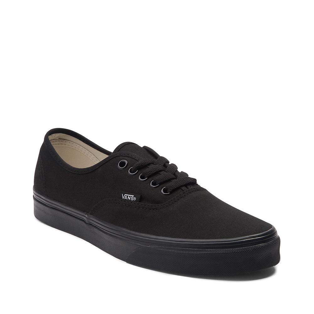 Vans Authentic Skate Shoe - Black Monochrome