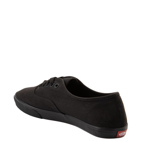 alternate view Vans Authentic Lo Pro Skate Shoe - Black MonochromeALT2