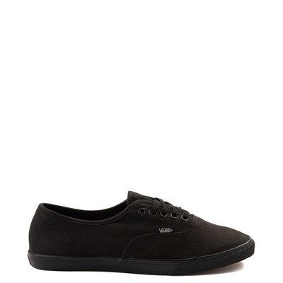 Black Vans Authentic Lo Pro Skate Shoe