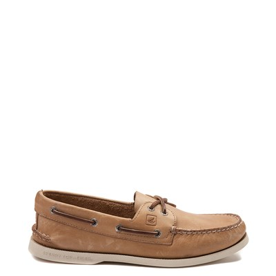 Main view of Mens Sperry Top-Sider Authentic Original Boat Shoe - Bone
