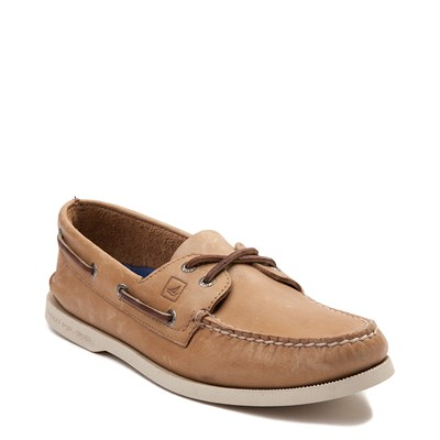 Alternate view of Mens Sperry Top-Sider Authentic Original Boat Shoe - Bone