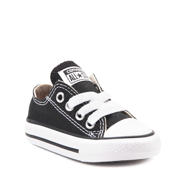 alternate view Converse Chuck Taylor All Star Lo Sneaker - Baby - BlackALT5
