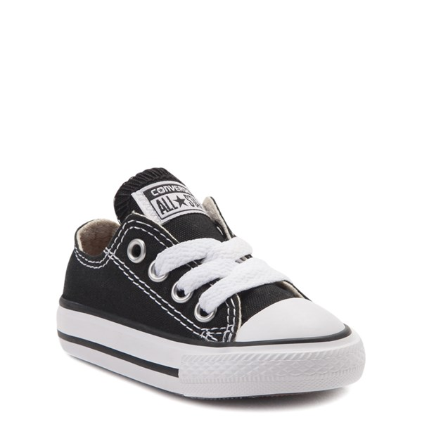 alternate view Converse Chuck Taylor All Star Lo Sneaker - Baby - BlackALT1