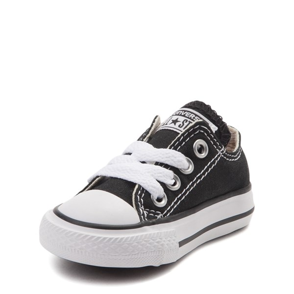 alternate view Converse Chuck Taylor All Star Lo Sneaker - Baby - BlackALT3