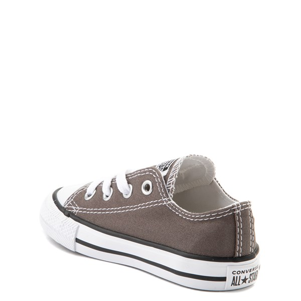 alternate view Converse Chuck Taylor All Star Lo Sneaker - Baby / Toddler - GrayALT2