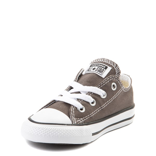 alternate view Converse Chuck Taylor All Star Lo Sneaker - Baby / Toddler - GrayALT3