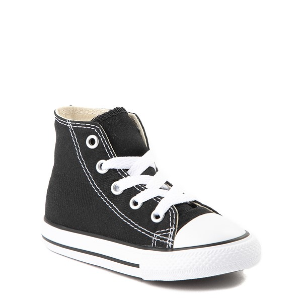 alternate view Converse Chuck Taylor All Star Hi Sneaker - Baby / Toddler - BlackALT1C
