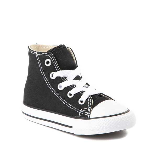 alternate view Converse Chuck Taylor All Star Hi Sneaker - Baby / Toddler - BlackALT5