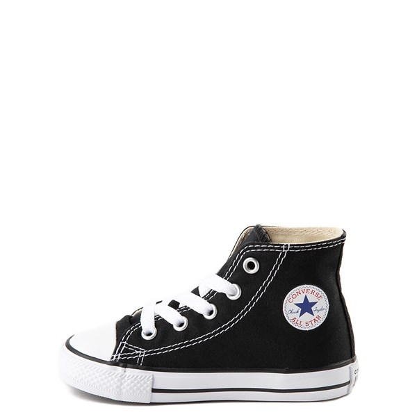 alternate view Converse Chuck Taylor All Star Hi Sneaker - Baby / Toddler - BlackALT1