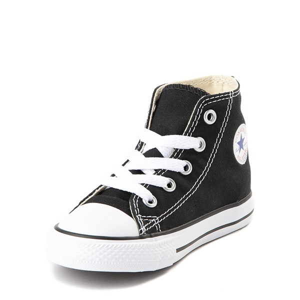 alternate view Converse Chuck Taylor All Star Hi Sneaker - Baby / Toddler - BlackALT3