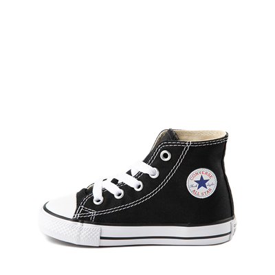 Alternate view of Converse Chuck Taylor All Star Hi Sneaker - Baby / Toddler - Black