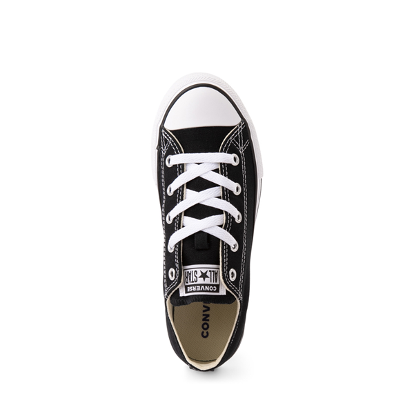 alternate view Converse Chuck Taylor All Star Lo Sneaker - Little Kid - BlackALT2