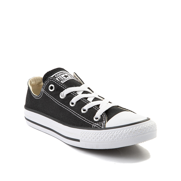 alternate view Converse Chuck Taylor All Star Lo Sneaker - Little Kid - BlackALT5