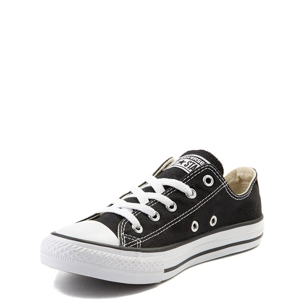 alternate view Converse Chuck Taylor All Star Lo Sneaker - Little Kid - BlackALT3