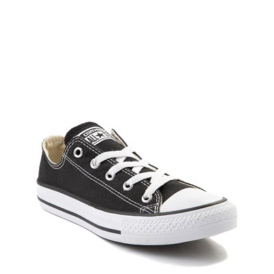 Alternate view of Youth Converse Chuck Taylor All Star Lo Sneaker in Black