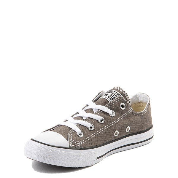 alternate view Converse Chuck Taylor All Star Lo Sneaker - Little Kid - GrayALT3