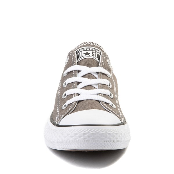 alternate view Converse Chuck Taylor All Star Lo Sneaker - Little Kid - GrayALT4