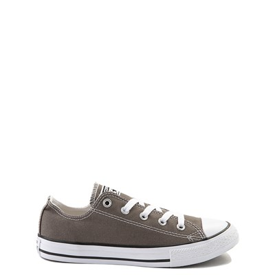 Main view of Youth Grey Converse Chuck Taylor All Star Lo Sneaker