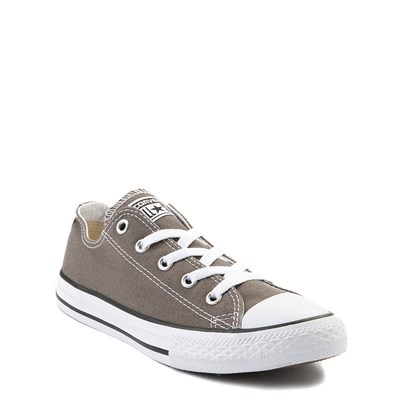 Alternate view of Youth Grey Converse Chuck Taylor All Star Lo Sneaker