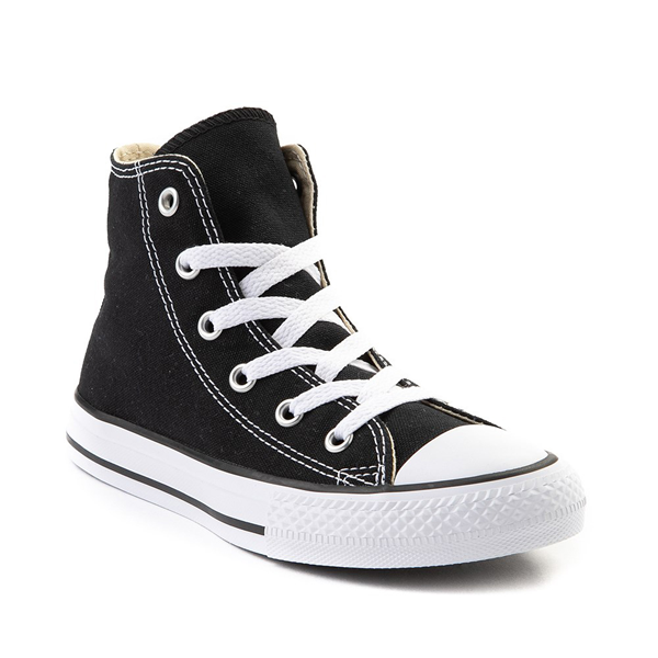 alternate view Converse Chuck Taylor All Star Hi Sneaker - Little Kid - BlackALT5