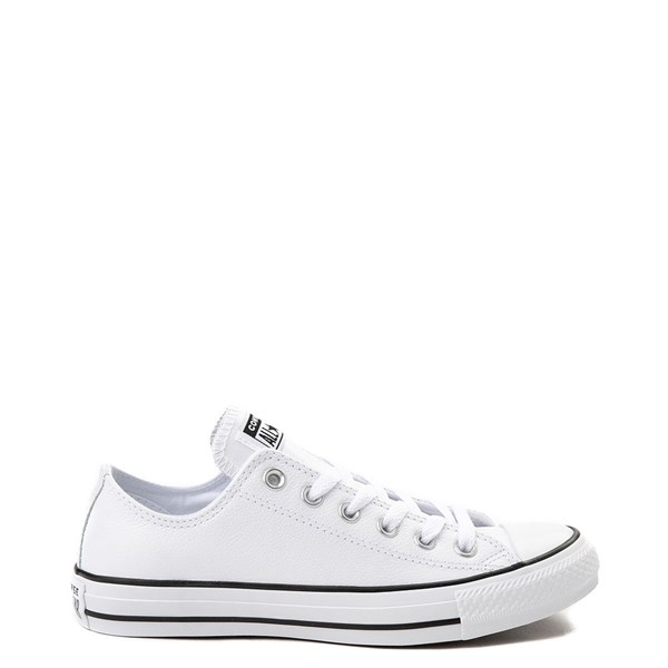 Default view of Converse Chuck Taylor All Star Lo Leather Sneaker - White