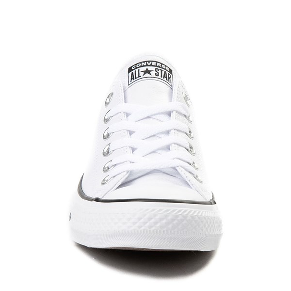 alternate view Converse Chuck Taylor All Star Lo Leather Sneaker - WhiteALT4