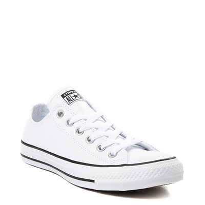 Alternate view of Converse Chuck Taylor All Star Lo Leather Sneaker - White