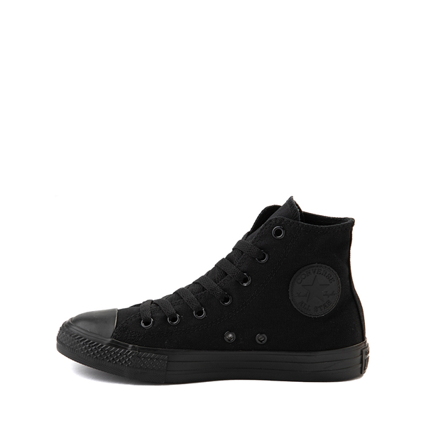 alternate view Converse Chuck Taylor All Star Hi Sneaker - Little Kid - BlackALT1