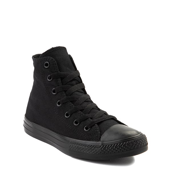 alternate view Converse Chuck Taylor All Star Hi Sneaker - Little Kid - BlackALT1B