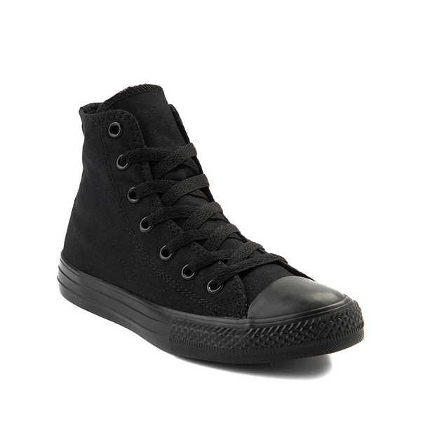 alternate view Converse Chuck Taylor All Star Hi Sneaker - Little Kid - BlackALT5