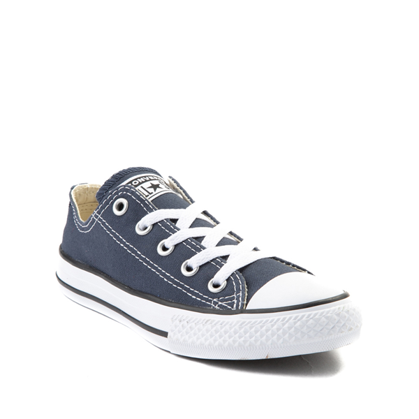 alternate view Converse Chuck Taylor All Star Lo Sneaker - Little Kid - NavyALT5