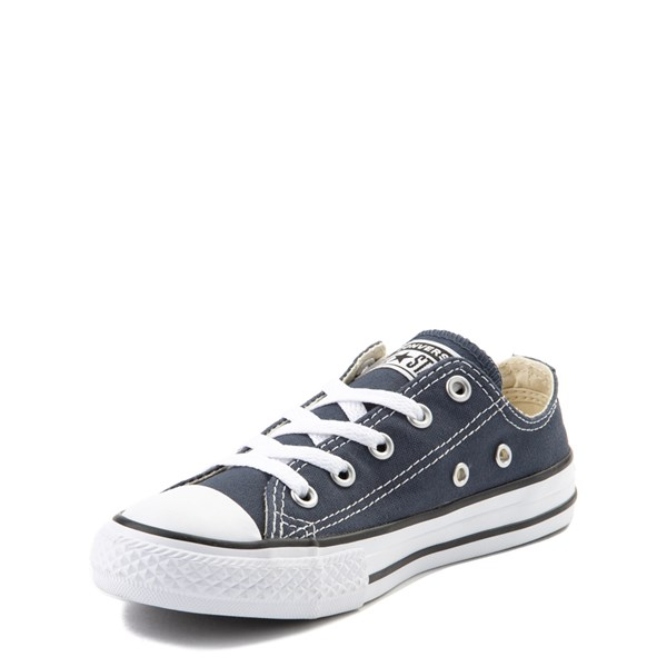alternate view Converse Chuck Taylor All Star Lo Sneaker - Little Kid - NavyALT3