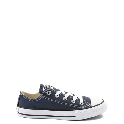 Main view of Youth Navy Converse Chuck Taylor All Star Lo Sneaker