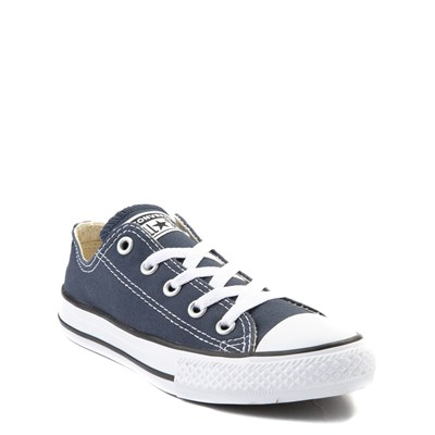 Alternate view of Youth Navy Converse Chuck Taylor All Star Lo Sneaker