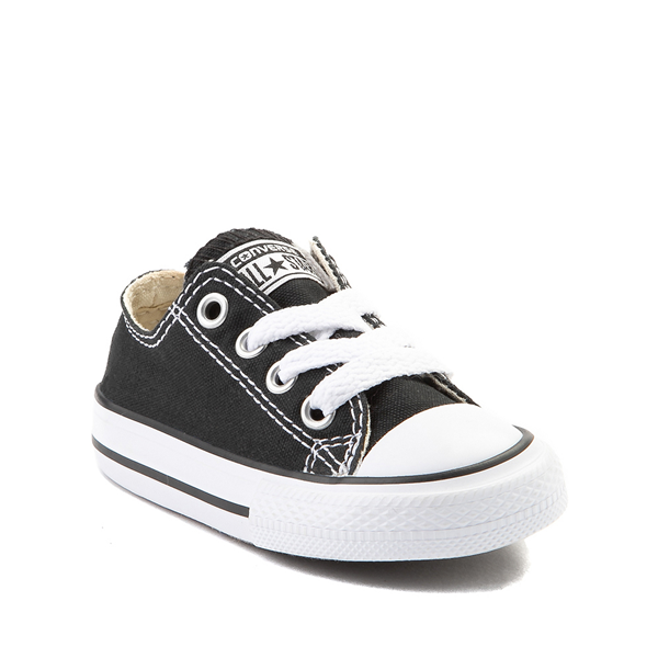 alternate view Converse Chuck Taylor All Star Lo Sneaker - Baby / Toddler - BlackALT5