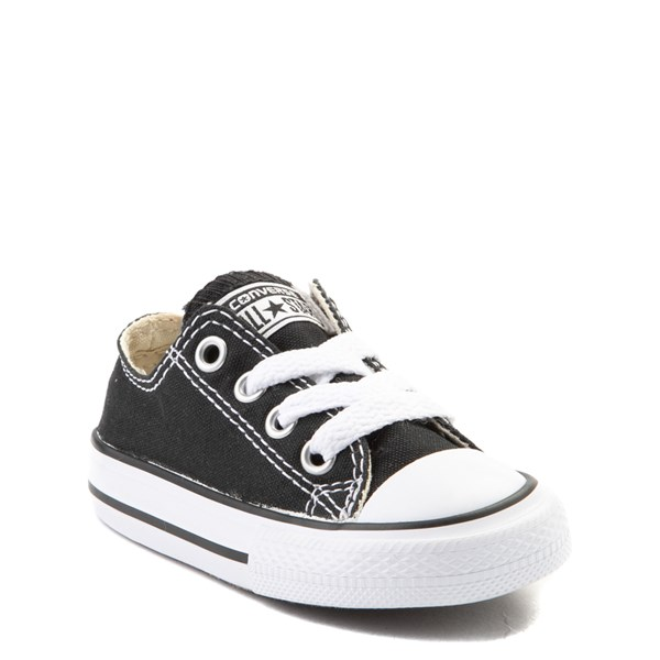 alternate view Converse Chuck Taylor All Star Lo Sneaker - Baby / Toddler - BlackALT1