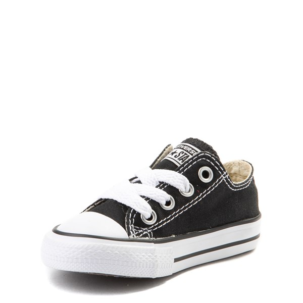 alternate view Converse Chuck Taylor All Star Lo Sneaker - Baby / Toddler - BlackALT3