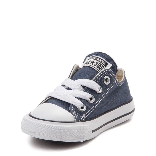 alternate view Converse Chuck Taylor All Star Lo Sneaker - Baby / Toddler - NavyALT2