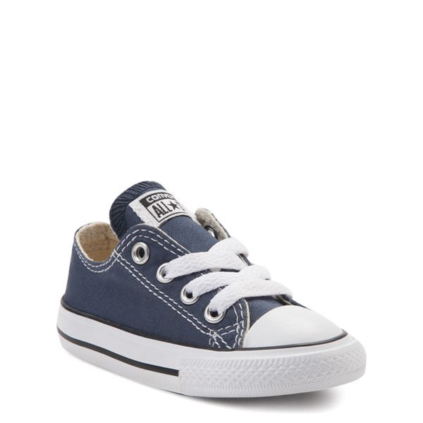 alternate view Converse Chuck Taylor All Star Lo Sneaker - Baby / Toddler - NavyALT5