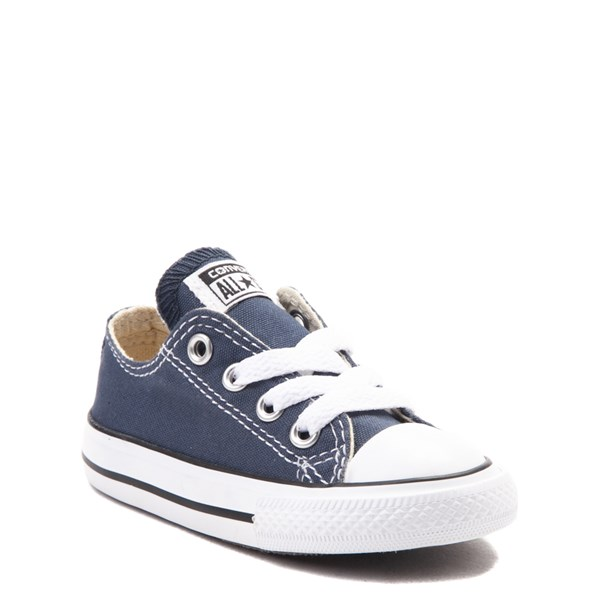 alternate view Converse Chuck Taylor All Star Lo Sneaker - Baby / Toddler - NavyALT1