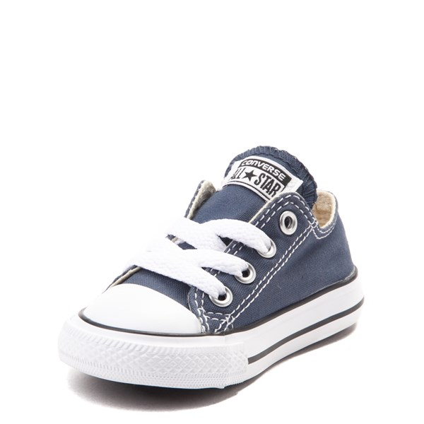 alternate view Converse Chuck Taylor All Star Lo Sneaker - Baby / Toddler - NavyALT3