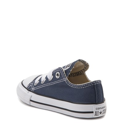 Alternate view of Converse Chuck Taylor All Star Lo Sneaker - Baby / Toddler - Navy
