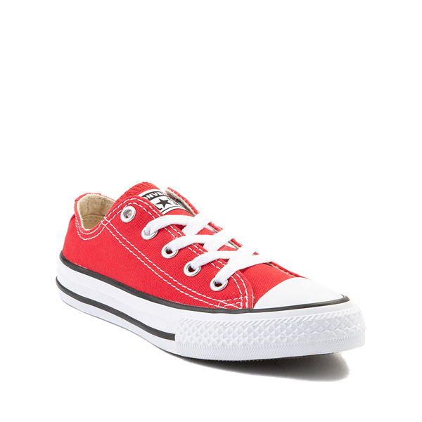 alternate view Converse Chuck Taylor All Star Lo Sneaker - Little Kid - RedALT5