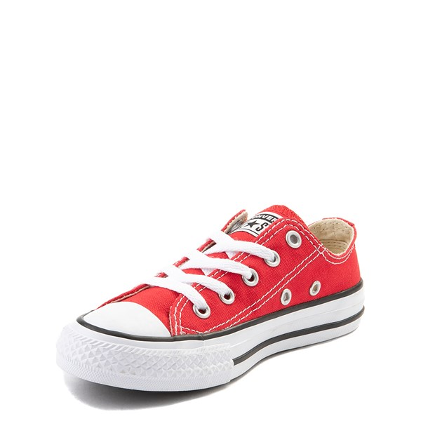 alternate view Converse Chuck Taylor All Star Lo Sneaker - Little Kid - RedALT3