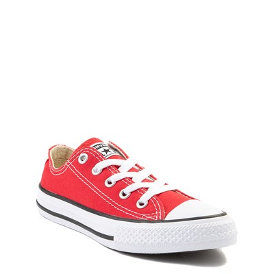 Alternate view of Youth Red Converse Chuck Taylor All Star Lo Sneaker